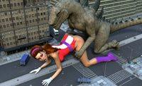 Free Porn Pics Of Eva Angelina Vs Godzilla Cock