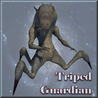 DeepSpace3D's Triped Guardian