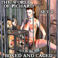 "Davo's World of Pichard Set 2: ""Boxed and Caged"""