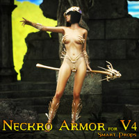 Darkseal's Neckro Armor for V4