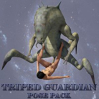 DeepSpace3D's Triped Guardian Pose Pack