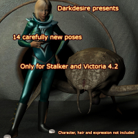 DarkDesire's Stalker Pose set 01