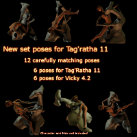 DarkDesire's Tagratha 11Pose Set 01