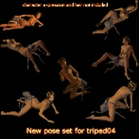 DarkDesire's Triped 04 Pose Set 01