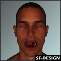 SFD's Lustful Facial Expressions for M6 / V6 (Genesis 2)