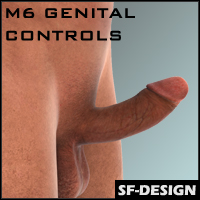 SFD's Pose and Control  Addon for M6 / Genesis 2 Male Genital