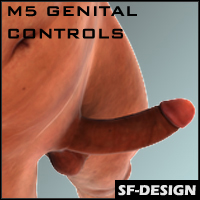SFD's Pose and Control Addon for M5 / Genesis Male Genital