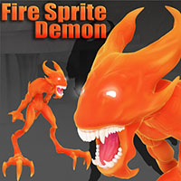 Darkseal's Fire Sprite Demon