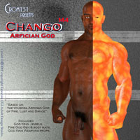 Crom131's Chango African God of Fire and Lust for M4