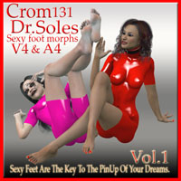 Crom131's Dr Soles Sexy Foot Morphs Vol.1