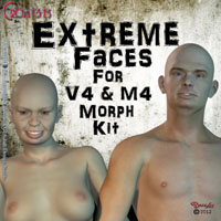 Crom131's Extreme Faces Morph Kit
