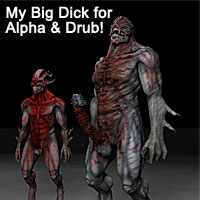 3D Fiends My Big Dick for Alpha and Drub
