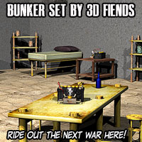 3DFiends' Bunker Set