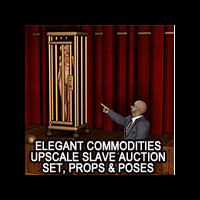 3DFiends' Elegant Commodities Upscale Slave Auction