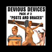 Davo's Devious Devices Pack 2, Posts and Braces!