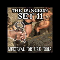 "Davo's Dungeon Set 11: ""Medieval Torture Tools"""