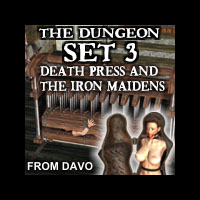 "Davo's Pulp Noir Series ""Dungeon Set 3: Death Press and the Iron Maidens"""