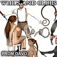"Davo's Pulp Noir Series: ""Whips and Clubs"" Pack"