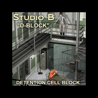 "Davo's Studio B ""D-Block"" Detention Cell Unit"