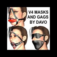 Davo's V4 MASK AND GAG SET