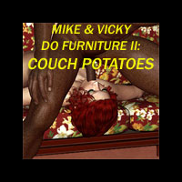 DarkPoser's Mike & Vicky Do Furniture II: Couch Potatoes M4V4