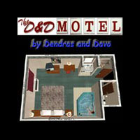 D&D Motel Updated for Poser 5 & up!