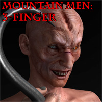 Henrika's Mountain Men: 3-Finger