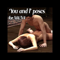 Henrika's You and I poses M4V4