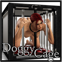SynfulMindz' Doggy Cage