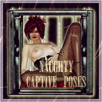 SynfulMindz' Naughty Captive Poses V4