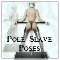 SynfulMindz' Pole Slave Poses V4