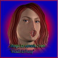 Morph Mouth to Pussy