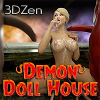 Jessica and Ellie: Demon Doll House