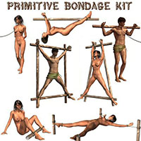 4dsumr's Primitive Bondage Kit