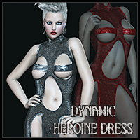 Dynamic Heroine Dress