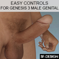 Easy Control for Genesis 3 Male Genital