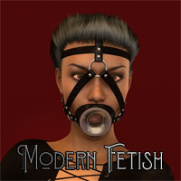 Modern Fetish 05 - Open Mouth Harness