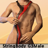Body String For Genesis 3 Male