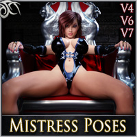 Yes Mistress - Black Widow Poses