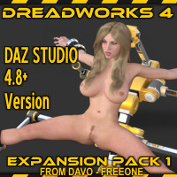 Dreadworks 4 Expansion Pack 1 DazStudio 4.8 Version