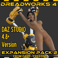 Dreadworks 4 Expansion Pack 2 DazStudio 4.8+ Version