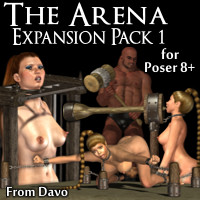 Arena Expansion Pack 1 for Poser 8+