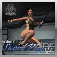Action Girls: Sword Play For V4