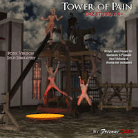 Tower Of Pain For DazStudio 4.8+