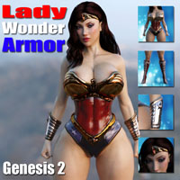 Lady Wonder Armor