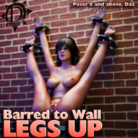 Barred To Wall Legs Up