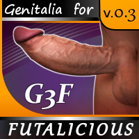 Futalicious For Genesis 3 Female