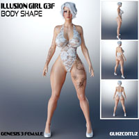 Illusion Girl G3F Body Shape
