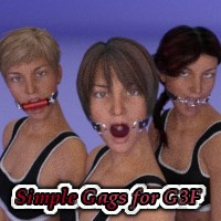 Simple Gags For G3F
