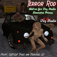 Terror Rod Add-On For Daz Studio Limousine Prince